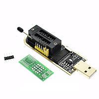 USB програматор CH341A для EEPROM і FLASH мікросхем 24, 25 серій