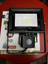 Прожектор светодиодный 30W с датчиком движения 6400K Horoz Хороз