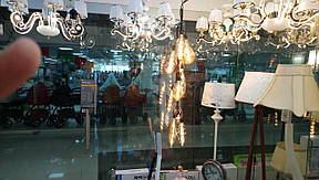Винтажная LED лампа Horoz ST64 4W, фото 2