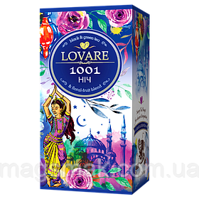 Чай Lovare / Ловаре 1001 ночь, 24 пакета