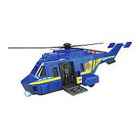 Игрушечный вертолет Dickie Toys SOS Силы особого назначения Полиция 1:24 с эффектами 26 см (3714009)