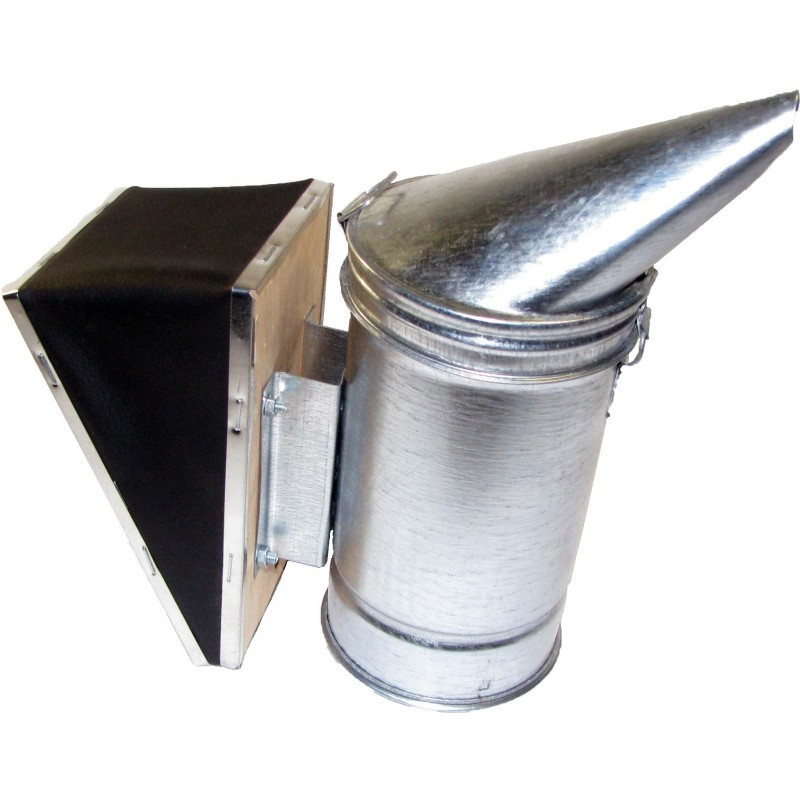 Дымарь пасечный из оцинкованной стали со съемным мехом