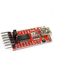 USB - TTL конвертер FT232RL 3.3/5В miniUSB