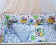 Наборы детского постельного (сова)