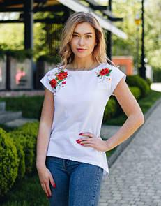 Белая стильная женская туника