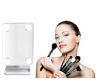 Зеркало косметическое с подсветкой и поворотом 360 Cosmetie mirror, фото 1