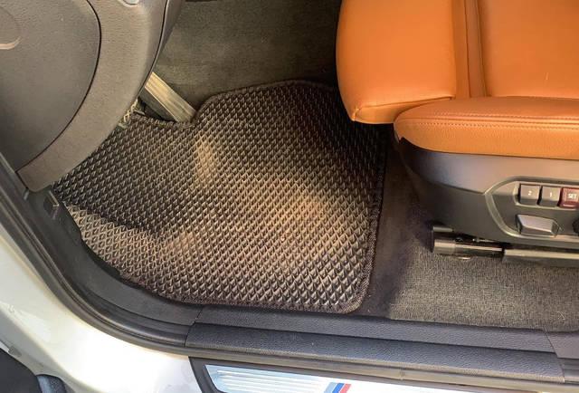 Наши коврики EVA в салоне BMW X4 F26 '14- -1
