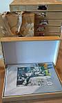 Комплект постільної білизни ELWAY (Польща) 3D LUX Сатин Євро Подарункова упаковка (221), фото 4