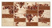 Панели ПВХ Grace Плитка Кофейные зерна 955*480 мм