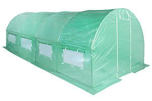 Теплица, парник для огорода 300 X 600 CM (18 M2) зеленый