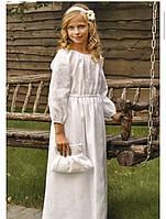 Вышиванка длинное платье