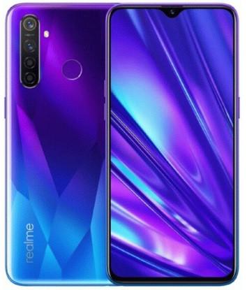 "Смартфон Oppo Realme Q 4/64Gb Blue global, 48+8+2+2/16Мп, 2sim, 6.3"" IPS, 4035mAh, 4G (LTE), 8 ядер"