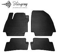 Коврики резиновые Renault Clio IV 2012- Stingray комплект модельные