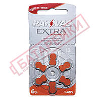 Батарейка Rayovac Zinc Air ZA13 (PR48) для слухового аппарата