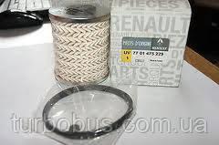 Топливный фильтр на Рено Трафик 2001-> 1.9dCi + 2.0dCi + 2.5dCi — Renault (Оригинал) - 7701475229