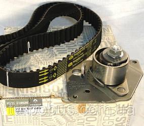 Комплект ремень + ролик ГРМ на Рено Трафик 01-> 1.9dCi — Renault (Оригинал) - 7701477048