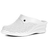 Женская медицинская обувь сабо Теллус Лена белые