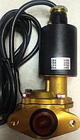 """Электромагнитный (соленоидный) клапан 1"""", 12В фланец"""