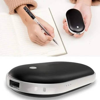 Грелка-повербанк для рук Pebble Hand Warmer PowerBank 10800 mAh