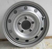 Диск колесный стальной (серый) на Рено Трафик 01-> (6Jx16) — Renault (оригинал) - 8200570331