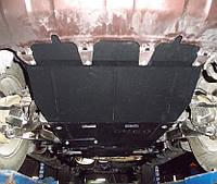 Защита картера Nissan Pathfinder IV 2012- V-2,5 D; 3,5, АКПП,двигун, КПП, радіатор, раздатка