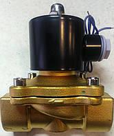 """Электромагнитный (соленоидный) клапан прямого действия 1"""", 12В"""