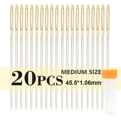 Набор игл 20шт 45,5*1,06mm