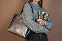 Комбинированная сумка из кожзама Камелия М223-76/34, фото 1