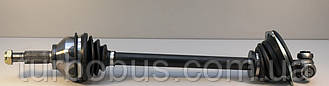 Полуось приводная (слева, L=635mm) на Рено Трафик 01-> 2.5dCi (135л.с.) — Opel (оригинал) 4430546
