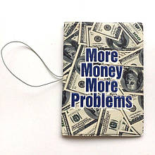 """Обкладинка для документів """"100 доларів"""""""