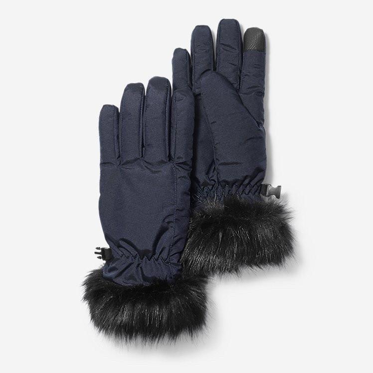 Перчатки Eddie Bauer Women's Sun Valley Down Gloves Navy M