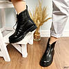 Ботинки женские демисезонные черные эко-кожа :), фото 2