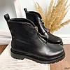 Ботинки женские демисезонные черные эко-кожа :), фото 8