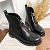 Ботинки женские демисезонные черные эко-кожа :), фото 9