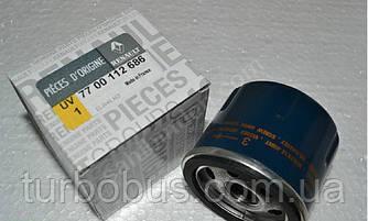 Фильтр масляный на Рено Кенго (объем двиг. 1.2) - Renault (оригинал) 7700112686