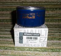 Фильтр масляный на Рено Кенго II 1.6i 16v (2008>) - PURFLUX (Франция) LS218