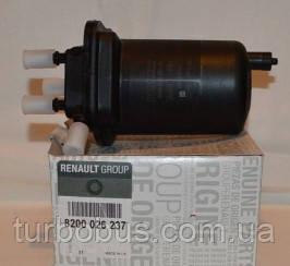 Фильтр топливный на Рено Кенго 1.5 dCi (2001-2008) - RENAULT (оригинал) 8200026237