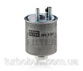 Фильтр топливный на Рено Кенго II 1.5 dCi (2008>) - MANN-FILTER (Германия) WK 918/1