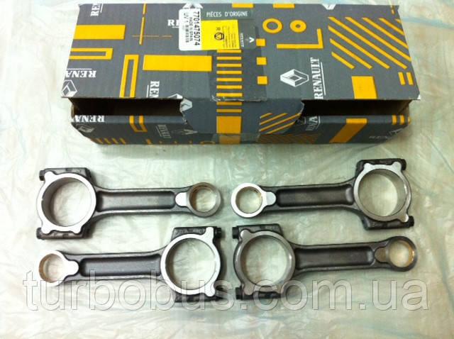 Шатуны на Рено Кенго 01-> 1.5dCi (K9K) (комплект) — Renault (Оригинал) 7701475074