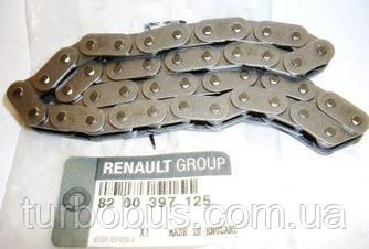 Цепь привода масляного насоса на Рено Кенго 1.5 (K9K) — Renault (Оригинал) - 8200397125