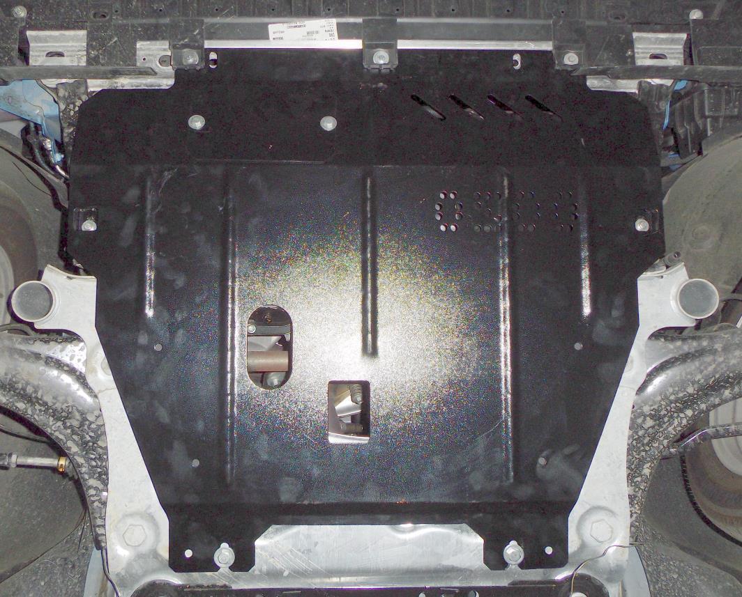 Защита картера Renault Megane III 2008-2016 V-2,0 i; 1,5 TDCI;,варіатор,двигун, КПП, радіатор