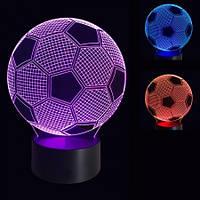 3D Светильник Футбол 3-1