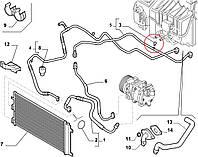 Клапан игольчатый системы кондиционирования Fiat Оригинал (Fiat/Alfa/Lancia)71735975