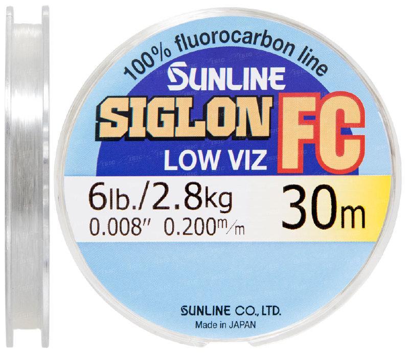 Поводковый материал (Флюорокарбон) Sunline Siglon FC (0.2 30m 2.8kg)