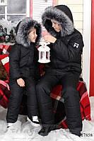 Зимний теплый костюм-комбинезон для ребенка, фото 1