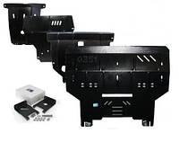 Защита картера Ford Transit 2000-2006 V-2.0 D,передній привід,двигун, КПП, радиатор (Форд Транзит) (Kolchuga)