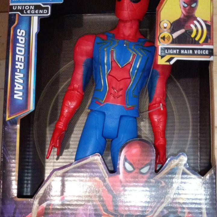 Фигурка Супергероя Человек паук Spiderman 29 см