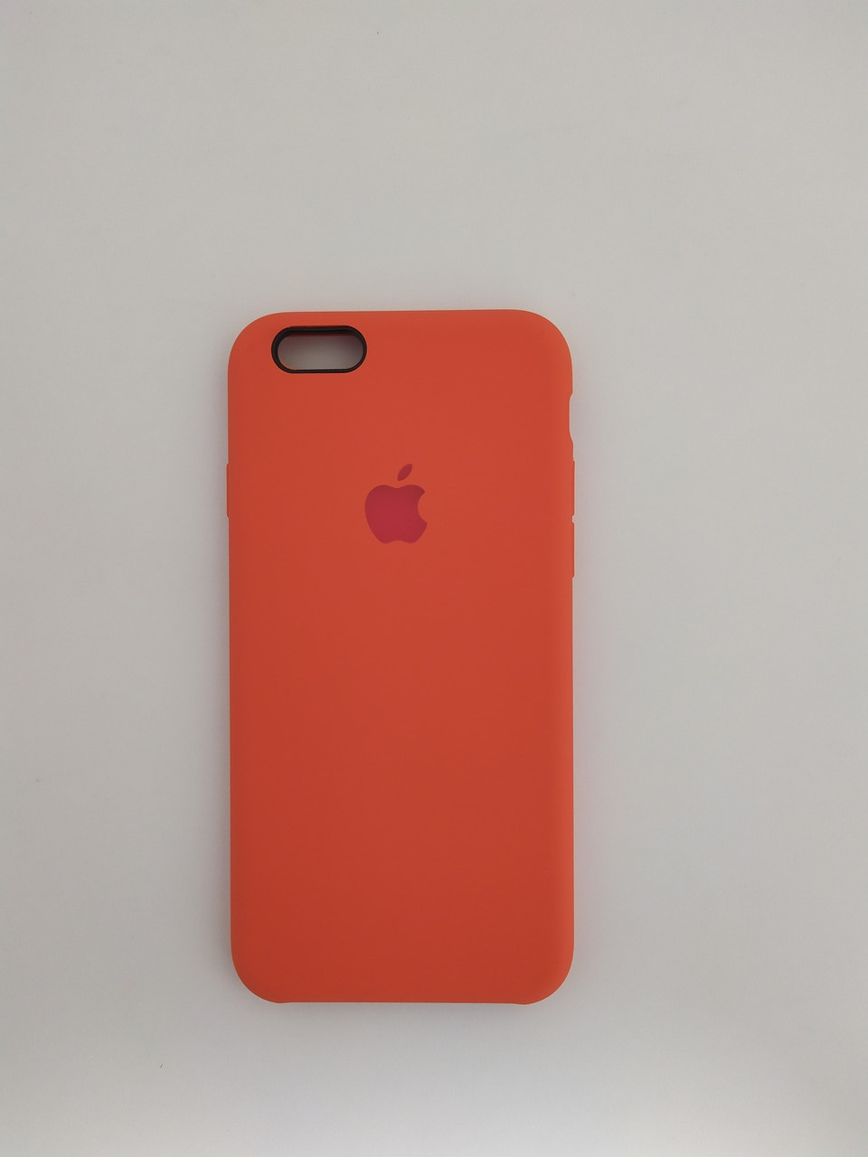 "Чехол Silicon iPhone 6 Plus - ""Оранжевое настроение №13"""