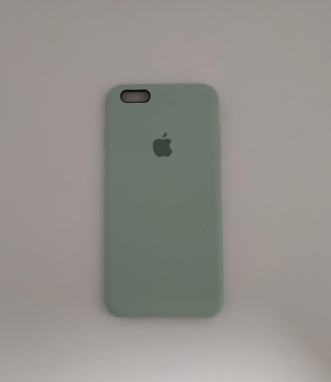 """Чехол Silicon iPhone 6 Plus - """"Бирюзовый №17"""""""