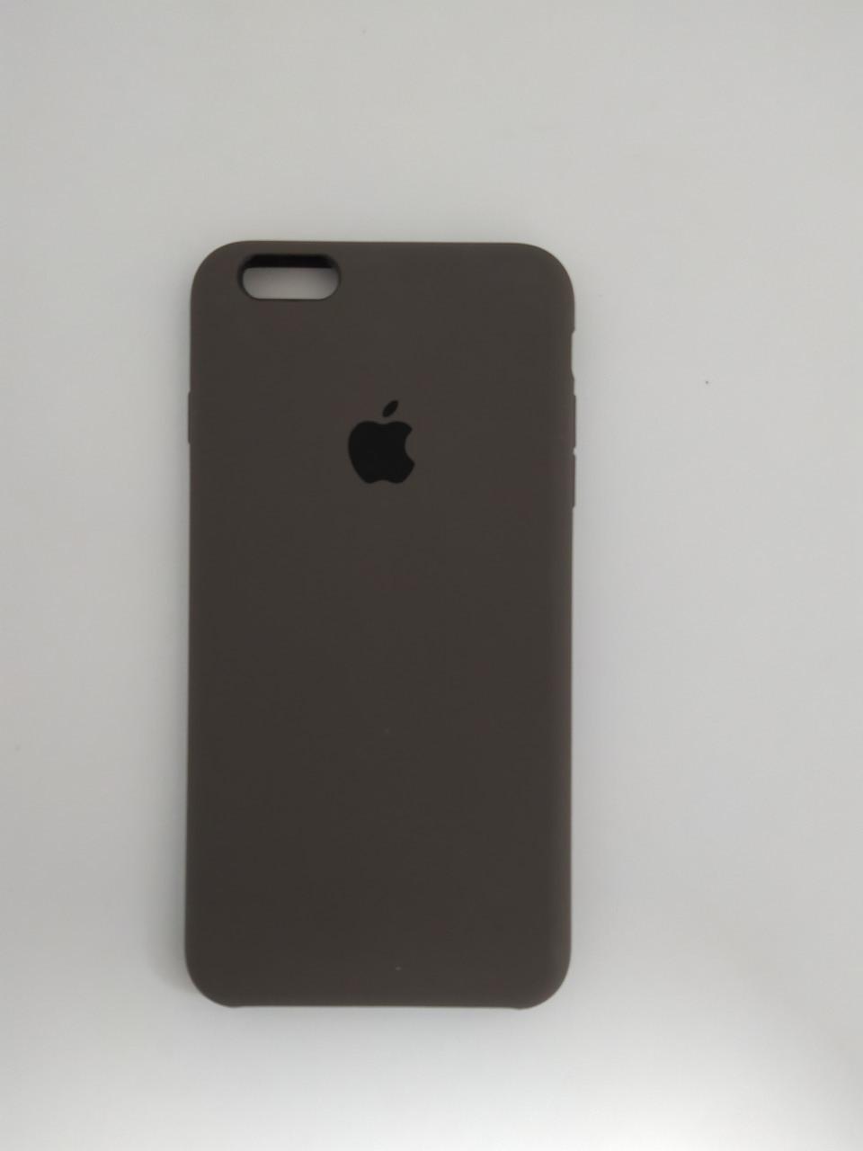 """Чехол Silicon iPhone 6 Plus - """"Кофе №22"""""""